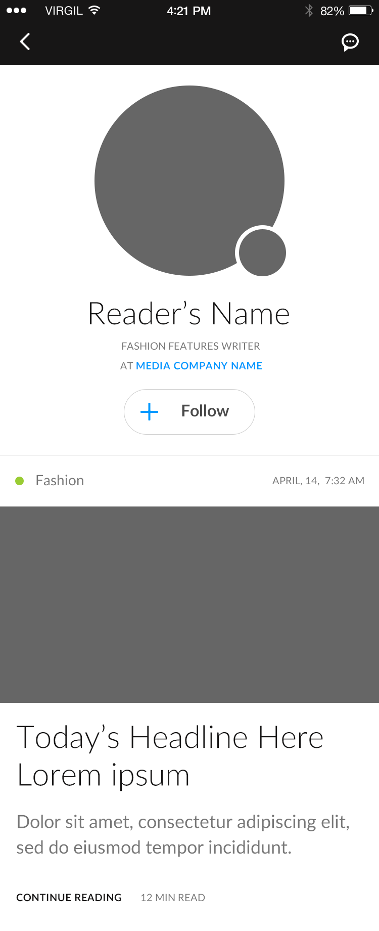 Profile (Reader)